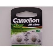 Camelion AG5, baterie ceas 1.5V alcalina, LR754, LR48, 193, SR754SW, GP93A, 393 blister 10