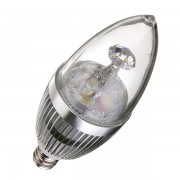 E12 LED Kaars Lamp In Twee Kleuren