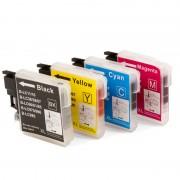 ZipZap LC-985 Pack 10 Cartuchos Multicolor Compatibles Brother