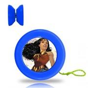 Wonder Hero Woman Yo Yo Professional Responsive Trick Yo-Yo Plastic Yoyo Ball Bearing Spinning String Spin YOYO Toys