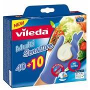 Manusi Multi Sensitive M/L 40+10/set Vileda