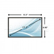 Display Laptop Toshiba SATELLITE L550-11H 17.3 inch 1600x900
