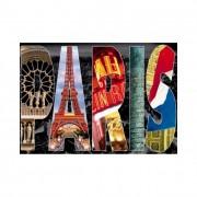 Educa Párizsi kollázs puzzle, 1000 darabos