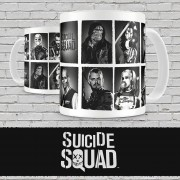 SD TOYS Suicide Squad Characters Mug Tazza