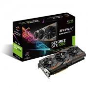 Placa video ASUS ROG Strix Gaming OC GeForce GTX 1060, 1645 (1873) MHz, 6GB GDDR5, 192-bit, DVI-D, 2x HDMI, 2x DP, STRIX-GTX1060-O6G-GAMING