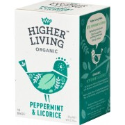 HIGHER LIVING Peppermint & Licorice Tea - 15 Beutel