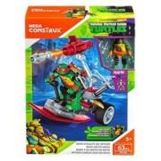 Set De Jucarii Mega Construx Teenage Mutant Ninja Turtles Raph Stealth Ski Spyder Set