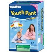 Moltex Fraldas Moltex Youth Pants T5 (27-57 kg) 12 uds