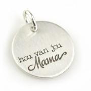 Hou van jou, Mama - Zilveren Hangertje