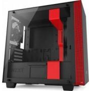 Carcasa NZXT H400 Matte Black/Red Fara sursa