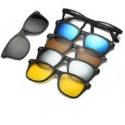Bruzone Spectacle Sunglasses(Grey, Yellow, Brown, Blue, Silver)