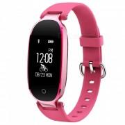 Ravi S3 Bluetooth Sports Smart Band Monitor Dinamico de Frecuencia Cardiaca - Rojo