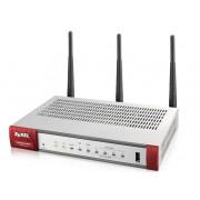 ZyXEL USG 20W-VPN (Device only) Firewall Applinace 1 x WAN, 1 x SFP, 4 x LAN/DMZ, IEEE 802.11ac/n