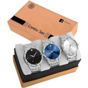 GenZ Stainless steel Analog stylish Gifting watch for Men110