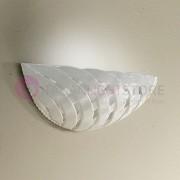 Ceramiche Borso Vignanova Applique In Ceramica Intrecciata Rustico Country