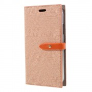 Mercury Pouzdro / kryt pro iPhone XR - Mercury, Milano Diary Orange/Orange