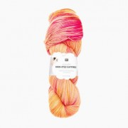 Rico Design Luxury Hand-Dyed Happiness dk von Rico Design, Lachs- Gelb