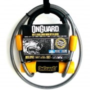 Candado Para Bicicleta Onguard 8015 Mini Tipo U Con Cable