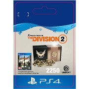 Tom Clancys The Division 2 - 2250 Credits - PS4 HU Digital