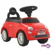 vidaXL Autić Fiat 500 crveni