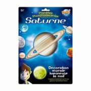Decoratiuni de perete fosforescente - Planeta Saturn