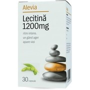 Lecitina 1200mg Alevia 30cps