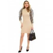 Rochie Tricotata Soft Elegance Beige