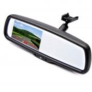 Display auto LCD 4.3″ cu Auto Dimming pe oglinda retrovizoare