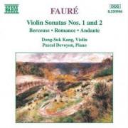 G. Faure - Violin Sonatas Nos. 1 & 2 (0730099590624) (1 CD)