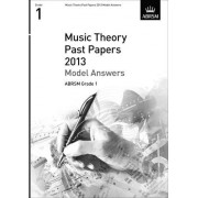 ABRSM Associated Board of the Royal Schools of Music abrsm theory of Music exam 2013 Past Paper Model Answers GRADE 1