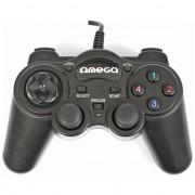 Gamepad Omega Interceptor PC Negru (41089)