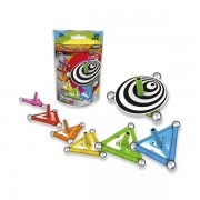 Set de constructie magnetic Geomag Spin, 10 piese