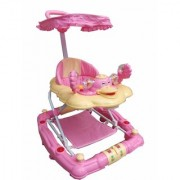 Oh Baby 7 In 1 Function Duck Shape Musical Pink Color Walker For Your Kids VXC-BNH-SE-W-16