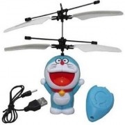 Flying Doraemon Sensor Helicopter (Blue White)