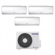 Climatizzatore Trial Split Con Inverter 9000+9000+9000 Btu Samsung Maldives Aj052rcj3eg In R32 A+++