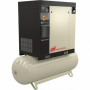 Ingersoll Rand Rotary Screw Compressor - 15 HP, 200 Volt/3-Phase, 53.9 CFM @ 115 PSI, 80-Gallon Tank, Model 48670707
