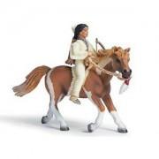 Schleich Sioux Boy On Pony