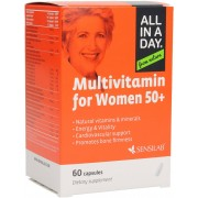Sensilab All in a Day - Multivitaminico per Donne 50+ - 60 Capsule