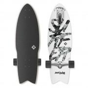 "Street surfing Longboard Street Surfing Shark Attack Great White 30"""