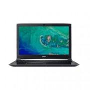 "Лаптоп Acer Aspire 7 A715-72G-58E3 (NH.GXBEX.025), четириядрен Coffee Lake Intel Core i5-8300H 2.3/4.0 GHz, 15.6"" (39.62 cm) Full HD IPS Display & GF GTX 1050 4GB, (HDMI), 8GB DDR4, 1TB HDD & 256GB SSD, USB 3.1 Type-C, Windows 10"