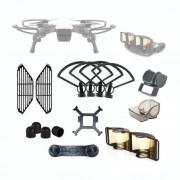 DJI Drone lens bescherming cover + statief + verbeterde antenne accessoires Kit voor DJI Spark
