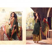 Embroidered Cotton Palazzo suit dress material Buy Palazzo suit online