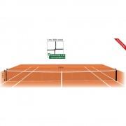 Fileu tenis regulamentar - fir 4 mm