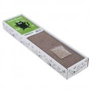 Bloque rascador Multi-Scratch de cartón - 47 x 12 x 5 cm (L x An x Al), con mariposas