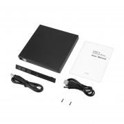 Tamaño Portátil USB 2.0 IDE Para CD Caja Externa Slim Para Portátil