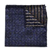 Batistă bărbătească de buzunar formă pătrată Willsoor (model 123) 8559 Blue