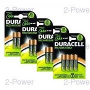 Duracell Uppladdningsbara AAA 16 Pack