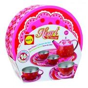 ALEX Toys - Pretend & Play Heart Tin Tea Set 704H
