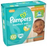 Fralda Pampers Confort Sec Extra Extra Grande Com 30 Unidades