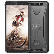 Blackview BV5500 Pro 4G Smartphones IP68 a prueba de caídas, 5.5 pulgadas, 3 GB + 16 GB Dual SIM [Quad Core] Android 9.0 4400 mAh batería y teléfonos móviles Face ID, color negro